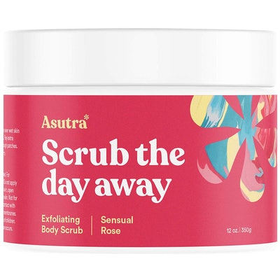 ASUTRA Dead Sea Salt Body Scrub