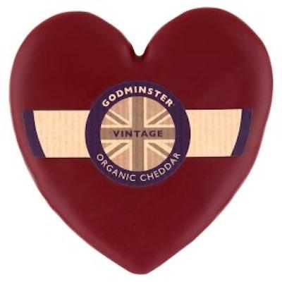 Godminster Organic Vintage Cheddar Heart