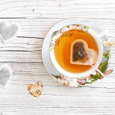Sweet Handmade Heart Shaped Tea Bags