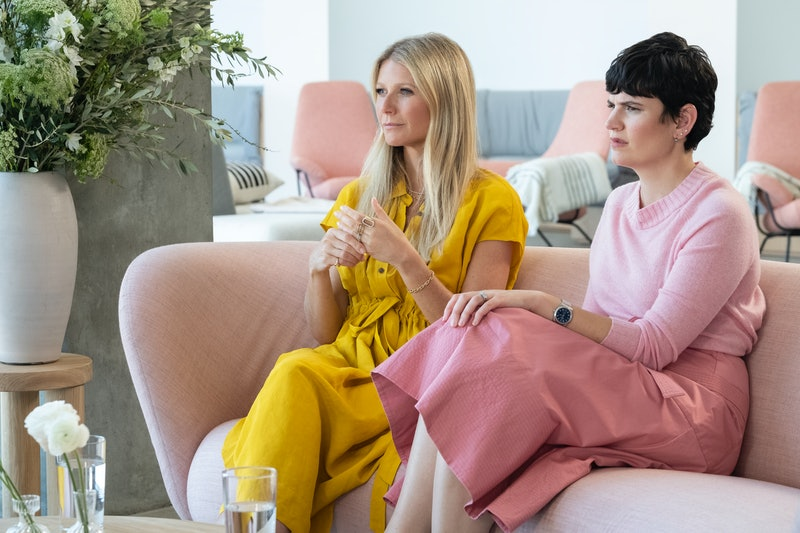 Gwyneth Paltrow & goop CEO Elise Loehnen discuss the science behind treatments on 'The goop Lab'
