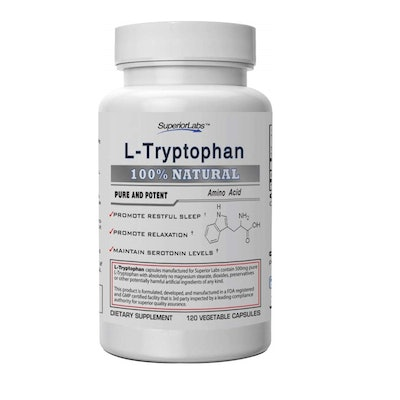 Superior Labs Pure L-Tryptophan