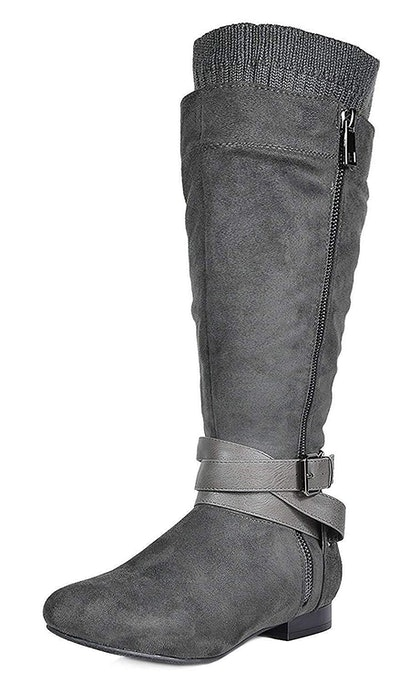 Dream Pairs Wide Calf Knee-High Slouch Boots