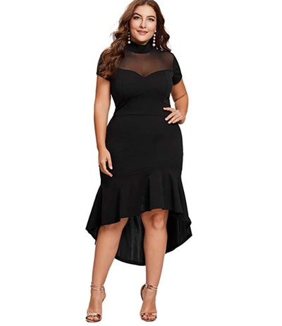Milumia Ruffle Pencil Party Dress