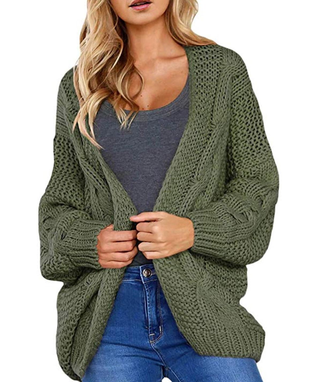 Astylish Chunky Knit Cardigan