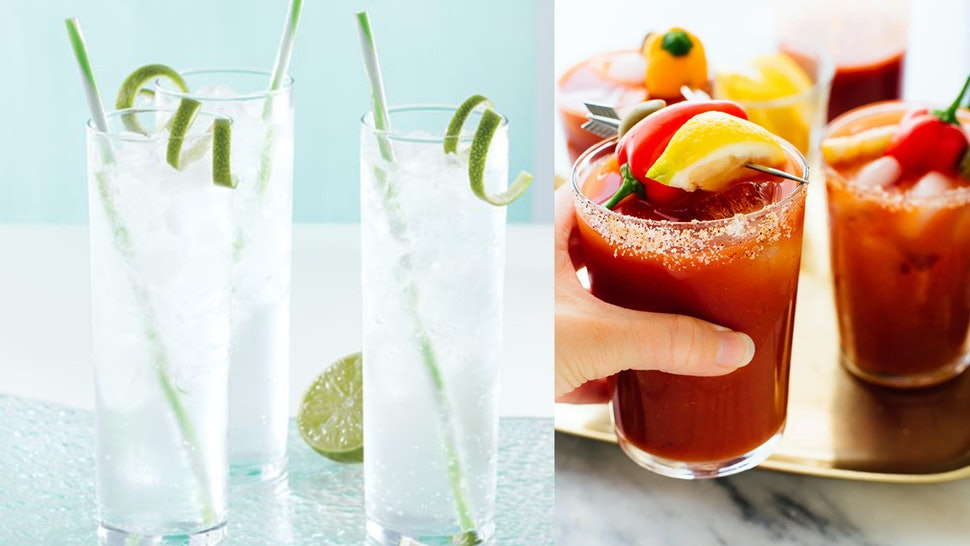 Bloody Marys, KC Ice Water and more Kansas City Chiefs drink ideas for the Super Bowl.