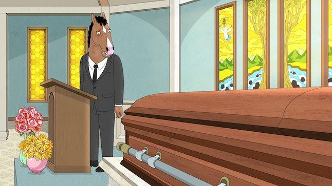 "BoJack in the Season 5 episode, ""Free Churro"""