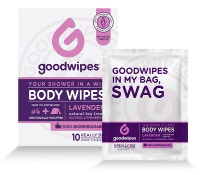 Goodwipes Lavender Body Wipes (10-Pack)