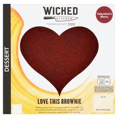 Wicked Kitchen Chocolate Brownie Heart