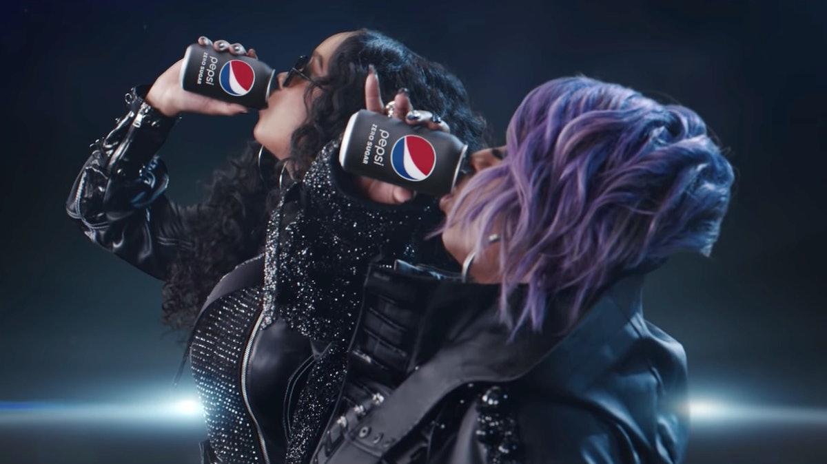 H.E.R. and Missy Elliot's Super Bowl Commercial for Pepsi Zero