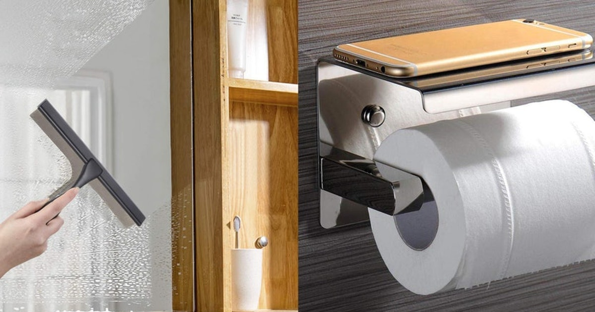 27 Weird Things For Your Bathroom That Are Clever AF On Amazon