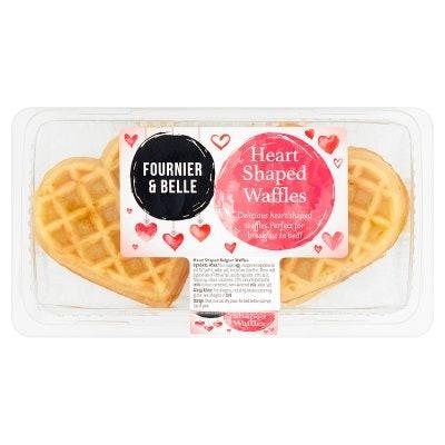 Fournier & Belle Heart Shaped Waffles