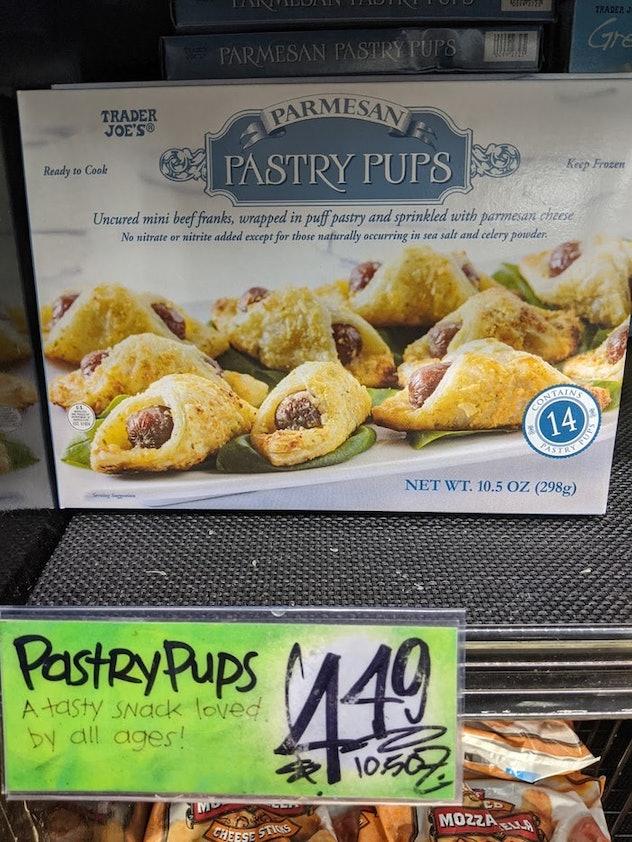 Parmesan Pastry Pups from Trader Joe's