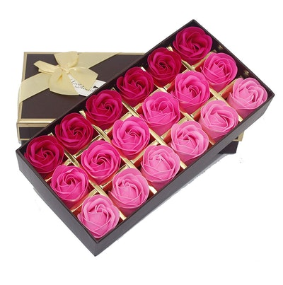 AIFUSI Rose Flower Bath Soap Gift Set