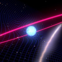Space-time warping star system confirms key aspect of Einstein's theory of general relativity