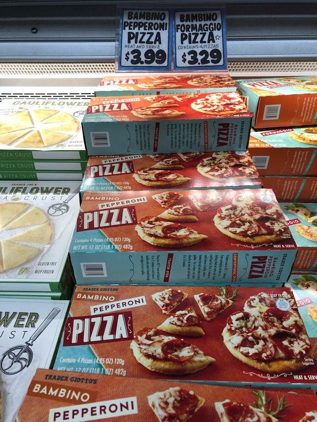 Bambino Pizza from Trader Joe's