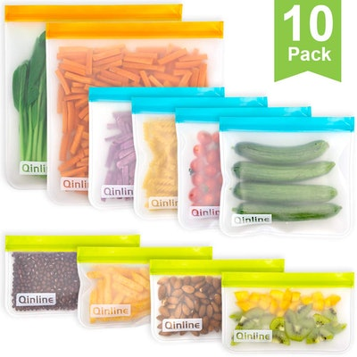 Qinline Reusable Storage Bags (10 Pack)