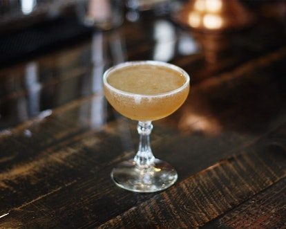 A bee's knees is a prohibition-era cocktail perfect for this Sunday's Super Bowl.