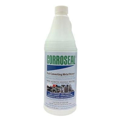 Corroseal Water-Based Rust Converter And Metal Primer (1 Quart)