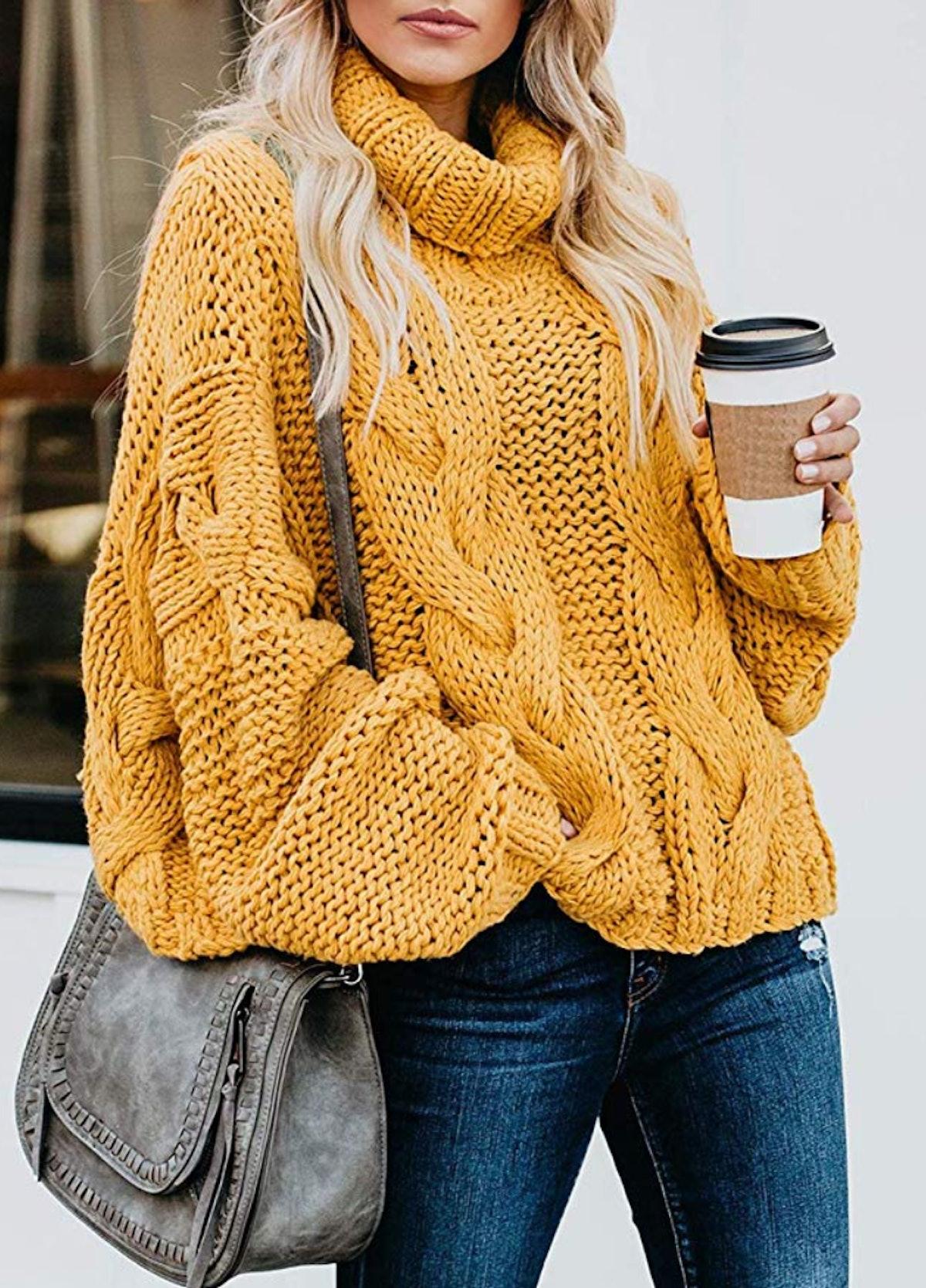 Dokotoo Balloon Sleeve Sweater
