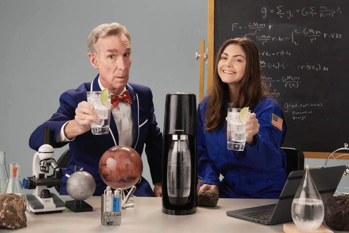 Bill Nye's Cameo In SodaStream's 2020 Super Bowl Commercial is amazing.