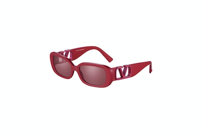 Red On Red Sunglasses