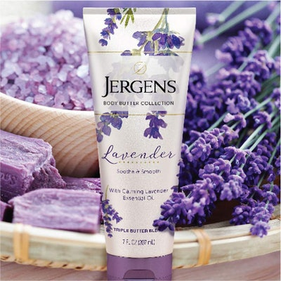 Jergens Lavender Body Butter Moisturizer