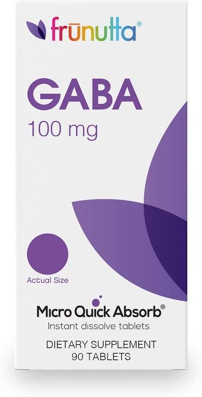 Frunutta GABA Under-The-Tongue Instant Dissolve Tablets (90-Count)
