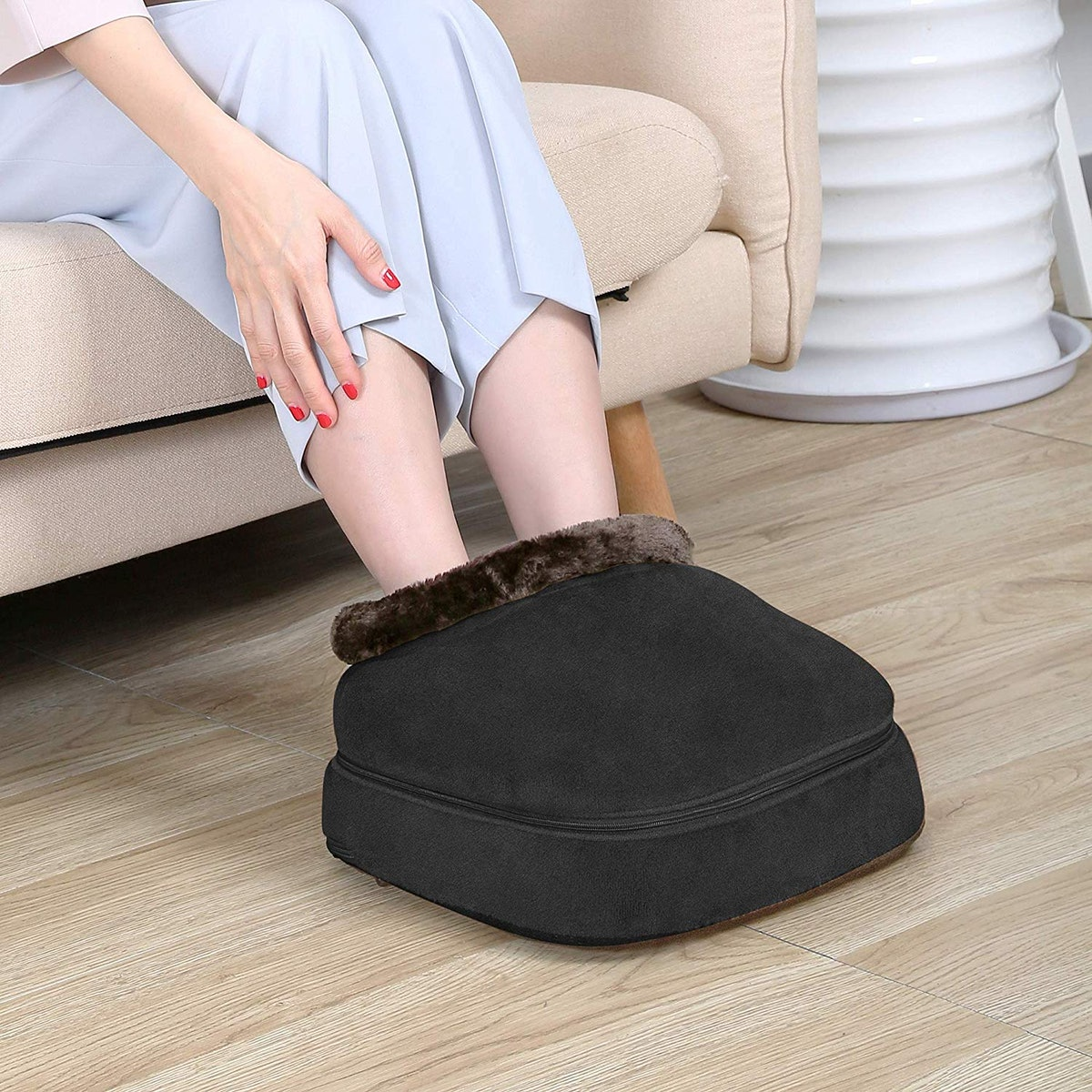 Snailax 3-in-1 Foot Warmer and Massager