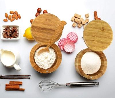 Estilo Salt and Spice Box with Lid (2-pieces)