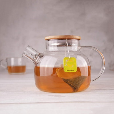 CnGlass Teapot with Removable Infuser