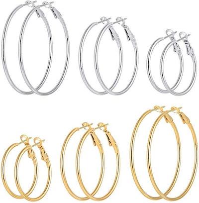 Cuicanstar Hoop Earrings