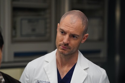 """Actor Richard Flood plays """"McWidow"""" Dr. Cormac Hayes on 'Grey's Anatomy.'"""