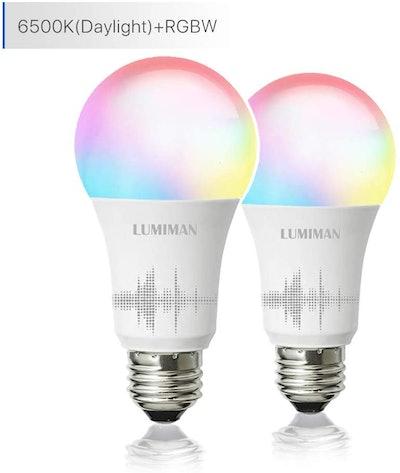 Smart WiFi Light Bulb by LUMIMAN