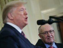 Trump has employed the services of constitutional law expert Alan Dershowitz.