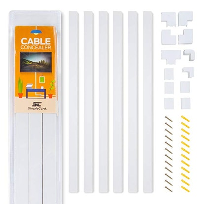Simple Cord Cable Cover Raceway Kit