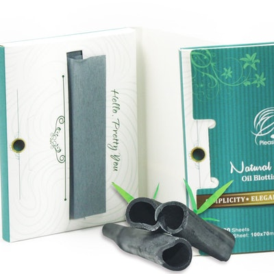 Pleasing Care Natural Bamboo Charcoal Oil Absorbing Tissues