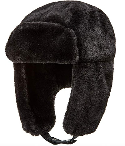 Amazon Essentials Faux Fur Trapper Hat With Ear Flaps