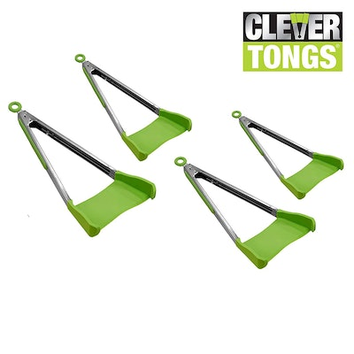 Allstar Innovations Clever Tongs (4 Pack)