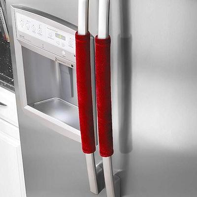 OUGAR8 Refrigerator Door Handle Covers (2 Pack)
