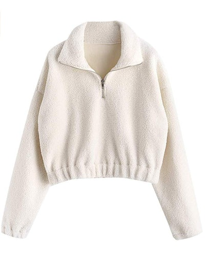 ZAFUL Half Zip Sweatshirt