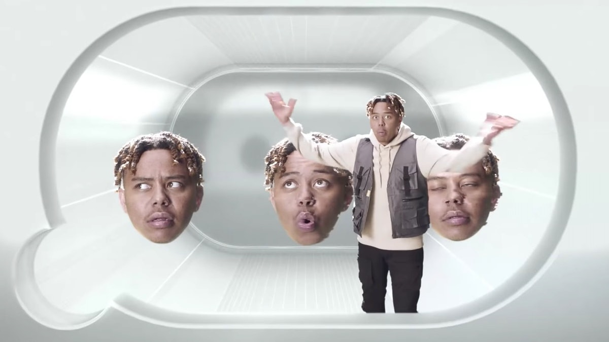 YBN Cordae in Coca-Cola's Super Bowl Ad