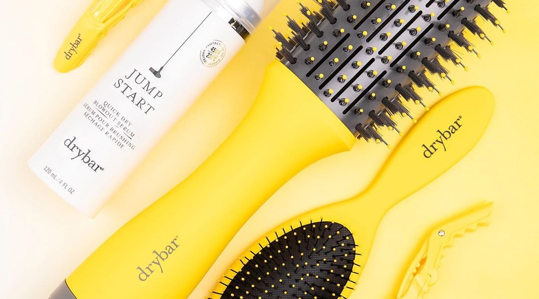 The Double Shot Blow-Dryer Brush is one of Drybar's best styling tools