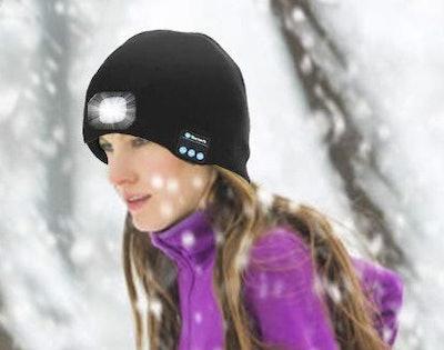 Tutuko Bluetooth LED Beanie Hat