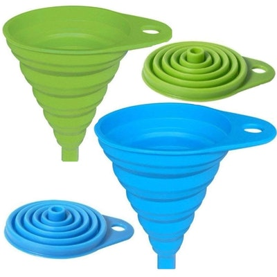 AxeSickle Silicone Collapsible Funnel (2 Pack)