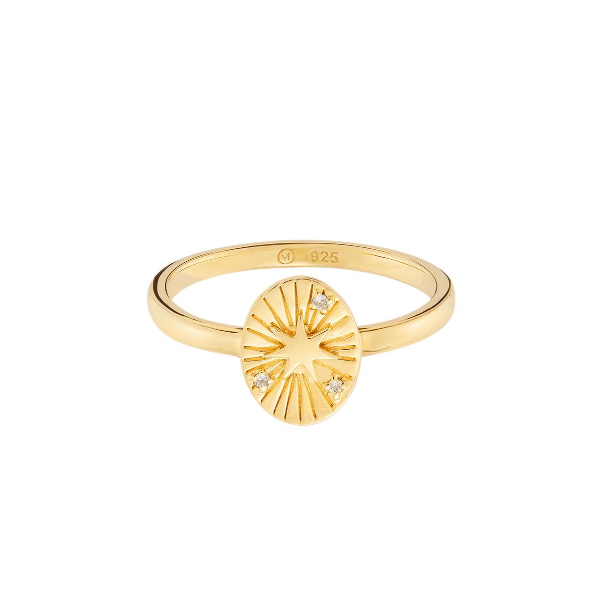 Mejuri Tarot Star Ring