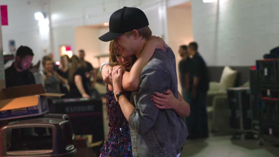 Taylor Swift and Joe Alwyn in Miss Americana