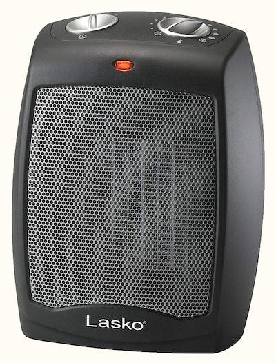 Lasko Adjustable Thermostat Tabletop Heater