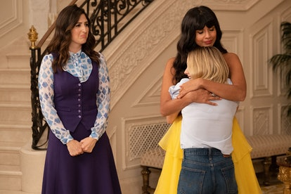 Eleanor says goodbye to Tahani in 'The Good Place' finale