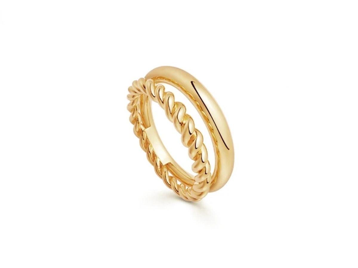 Missoma Gold Radial Ring