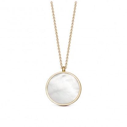 Stilla Gold Mother of Pearl Locket Necklace